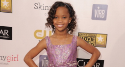 """David Meister Designs Custom Gowns for """"Beast of the Souther Wild"""" Star Quvenzhané Wallis"""